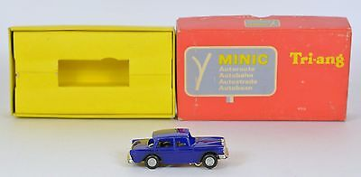 Triang Minic Motorways FRENCH M1556 MERCEDES EXC RUNNER MAINLY MINT BOXED RARE