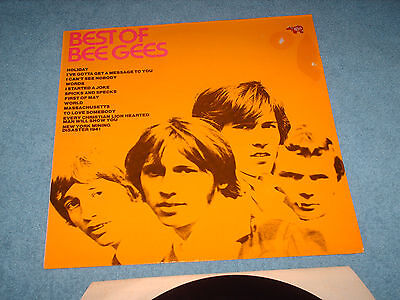 lp record best of the bee gees
