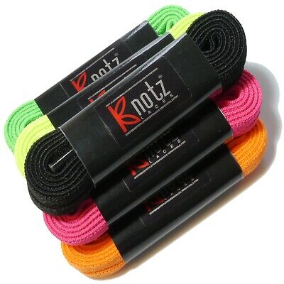Elastic Stretch Shoelaces 120cm - Easy Fit - Flat Sports Laces - Free UK Post