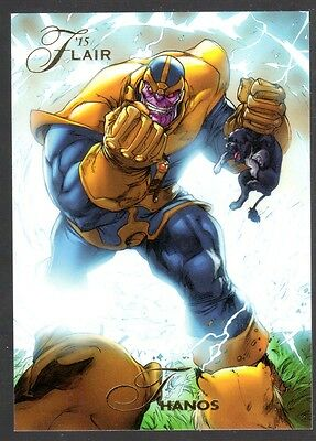 UD 2015 Marvel RETRO 1994 FLAIR SUBSET CHASE CARD # 24  ORIGIN OF THANOS   NM/M
