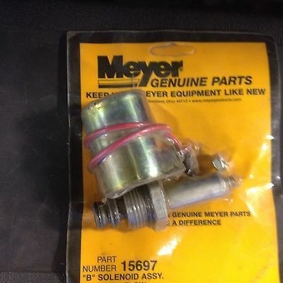 Meyer B Valve And Coil 15697