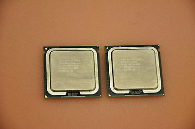 1 Matched Pair (2 CPUs) Intel X5365 3.0GHz/8M Quad Core Xeon SLAED CPU - LGA771