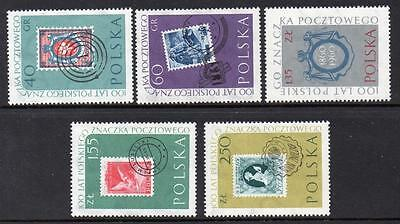 Poland MNH 1960 The 100th Anniversary of Polish Stamps