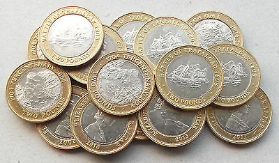 GIBRALTAR £2 Two Pound Coins * 2004-2013 * Choice of Years * Higher Grade