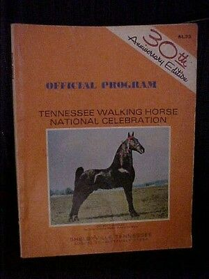 1968 Tennessee Walking Horse National Celebration Official Program Book TN