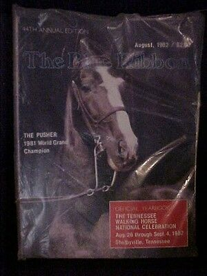 1982 The Blue Ribbon Tennessee Walking Horse National Celebration Year Book TN