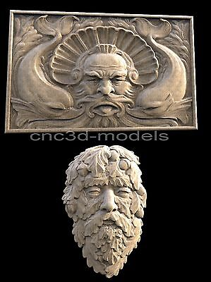 3D STL Models for CNC Router Carving Artcam Aspire USA D-Day Army Normandy D202