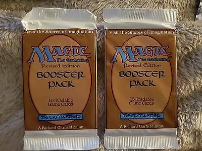 1x MTG Revised Booster Pack, NEW, Factory Sealed, English, RARE