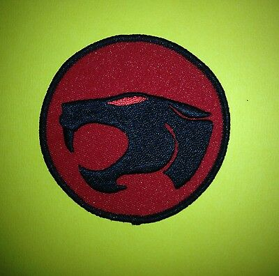 Vintage Thundercats Iron On Embroidered Hat Jacket Hoodie Patches Crests