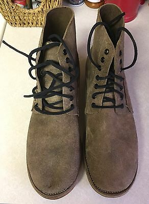 """French Reproduction WWI Boots-Robert Land. Size: 12."""""""