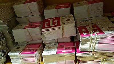 Lot of 100 T-Mobile USA bulk 2ff Regular Standard LTE Sim card wholesale 4G LTE