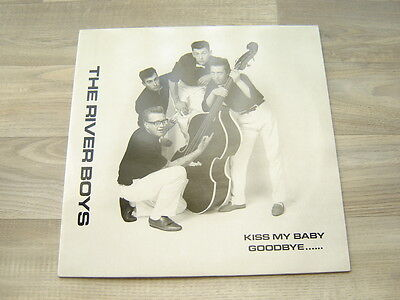 rockabilly LP EP rocknroll PRIVATE 50s 80s THE RIVER BOYS Kiss My Baby Goodbye