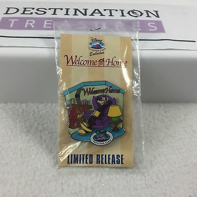 Disney Vacation Club Goofy Welcome Home PIN 2010 NIP but card bent