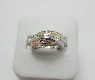 9ct ROSE GOLD 1/2 CT MULTI DIAMOND RING - VALUED @$1509 COMES WITH VALUATION