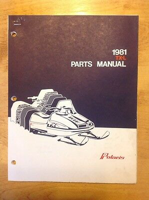 polaris tx l indy 1980 1981 factory service repair manual