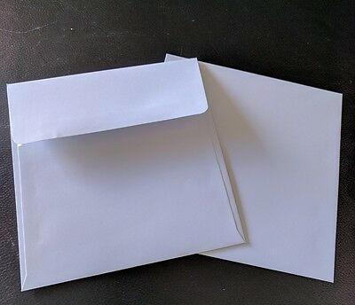 White Square Envelopes x 20. 150mmx150mm