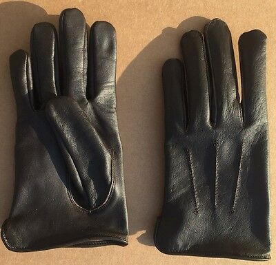 Uk British Officer Leather Gloves