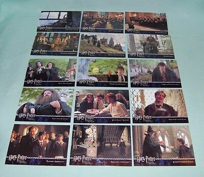 Harry Potter & the Prisoner of Azkaban Trading Cards 1 - 72 Nice Condition