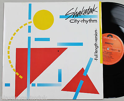 "SHAKATAK City Rhythm (full length vers) 12"" UK 1985 Polydor POSPX754  NrMINT!!"