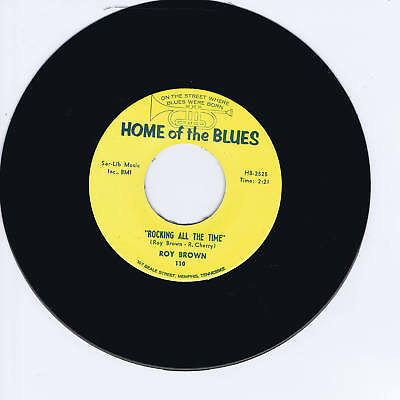 Roy Brown - Rocking All The Time + Woodrow Adams - Something On My Mind - Repro