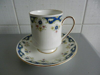 PARAGON BONE CHINA CUP & SAUCER  Coniston Pattern Made in England