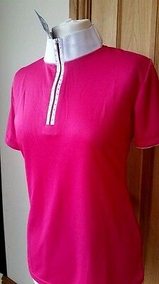 Harry's Horse Ladies/girls Champ Pink Competition Show Shirt