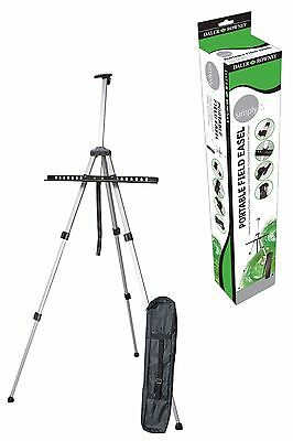 Daler Rowney Simply Portable Field Easel - Aluminium - Light - With Free Bag