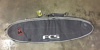 FCS 6ft7 Surfboard Bag Funboard Travel Cover  6'7