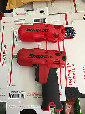 Snap On Red Protective Boot/Cover For 3/8 Drive CT761 ct725 Cordless Impact