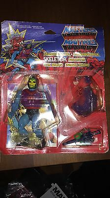 Masters Of The Universe Dragon Blaster Skeletor Deluxe Action Figure 1985