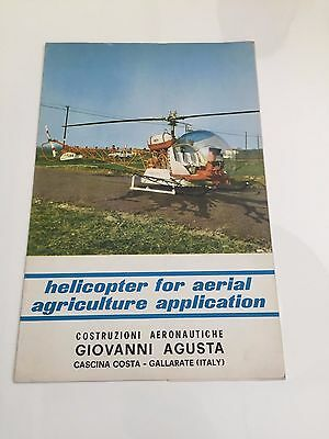 Agusta 47G-4 Helicopter For Aerial Agriculture Application Manufacturers Sales B