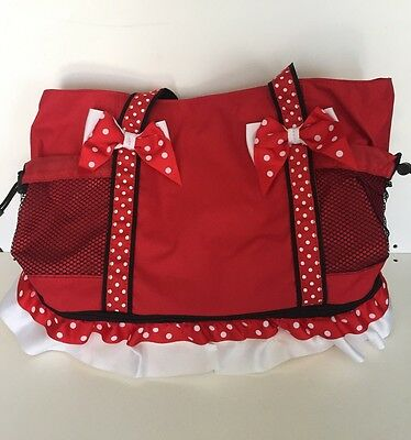 Disney Minnie Mouse Insulated Cooler Bag Tote Canvas