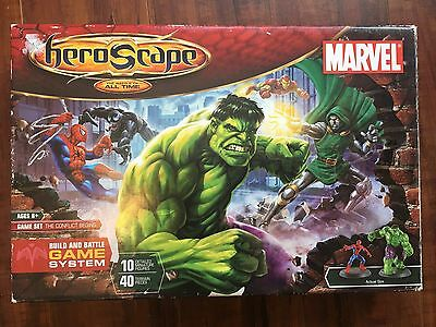 Marvel Heroscape The Conflict Begins The Battle Of All Time Game Set