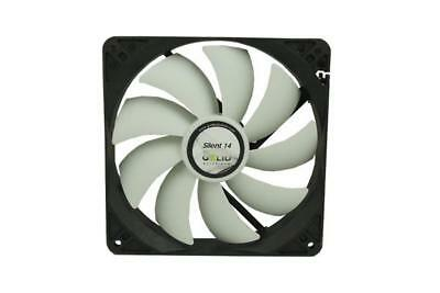 SILENT 14 Ventola per CPU 140mm con 4 Rubber Fan Mounts FN-SX14-10 GELID M6C4 M6
