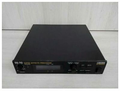 BOSS SE-70 Roland Super Effects Processor With Tracking Number F/S (2)