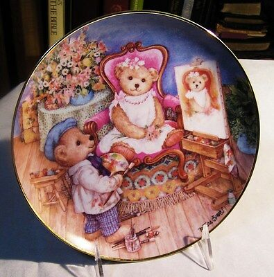 """Franklin Mint - Collector's Plate """"pretty As A Picture"""""""