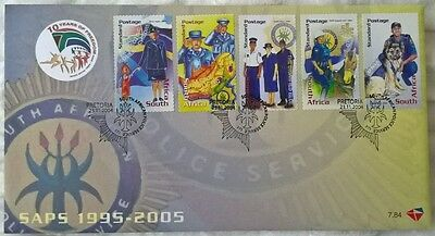 South Africa Stamps, First Day Cover, South African Police Service - 23/11/2004