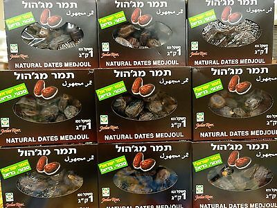 Fresh Israeli Organic  dates Medjool Dates Kosher Israel 1KG