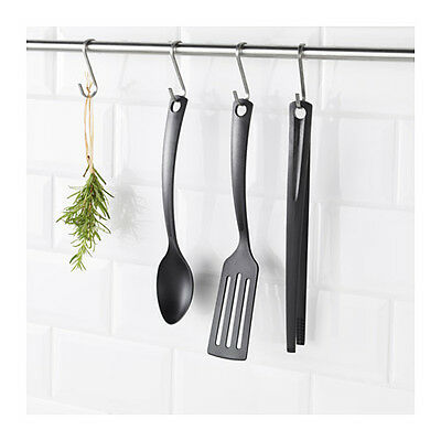 IKEA GNARP 3 Piece Kitchen Utensil Set Cooking Cookware Tools Non Stick