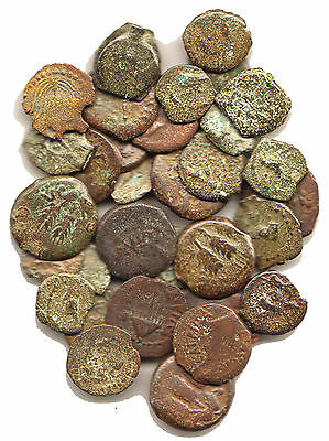 Herodian Family LOT of 33 Coins, Biblical/Judean