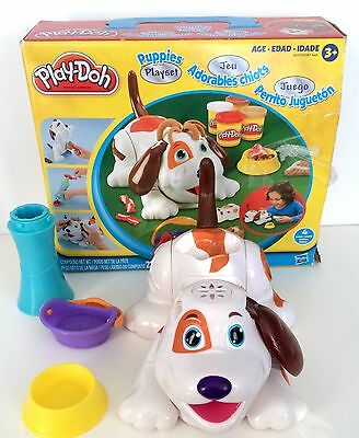 Play Doh Puppies Playset In Box Incomplete