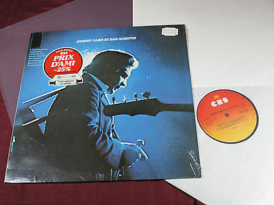 Johnny Cash  AT SAN QUENTIN  -  LP CBS 32209 sehr gut