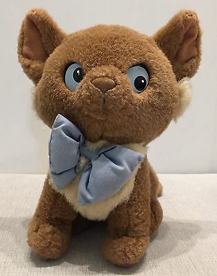 Disney The Aristocats 8 Inch Plush Toy Cat - Toulouse (Official Disney Store)