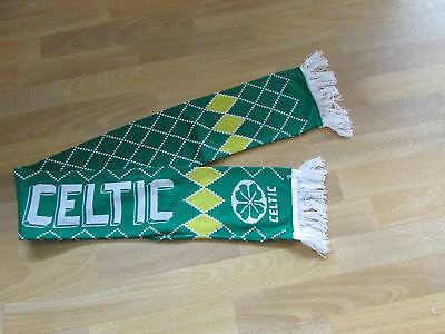 Glasgow CELTIC Patterned FOOTBALL Scarf