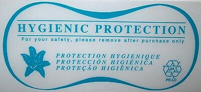 Hygienic Liners for Lingerie / Bathing Suits (1,000pc Roll) CLEAR Hygenic Liners