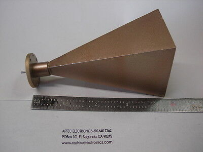 Generic WR-19 standard gain microwave horn 40-60 GHz
