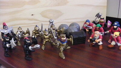 HUGE LOT Fisher Price Great Adventures Action Figures - Pirates & Knights people