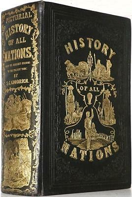 Scarce 1853 History Of All Nations Ancient Egypt Babylon Nineveh Rome Crusades