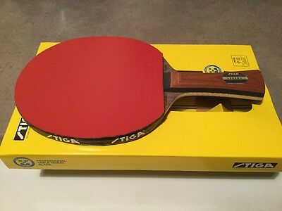 STIGA OFFENSIVE CLASSIC LEGEND Table Tennis Blade. DONIC BLUEFIRE M2 Rubbers