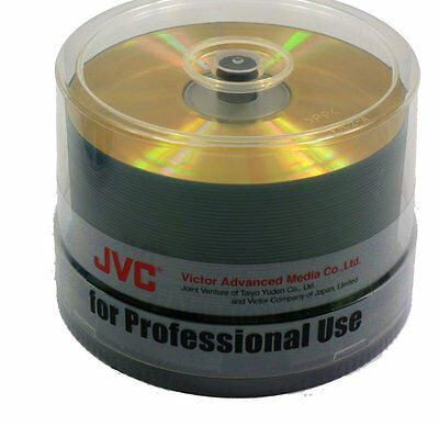 50 x TAIYO-YUDEN CD-R 80 'Studio Gold' - JVC Advanced Media - Audio Gold